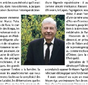 Le Figaro Histoire fev - Jacques Heers