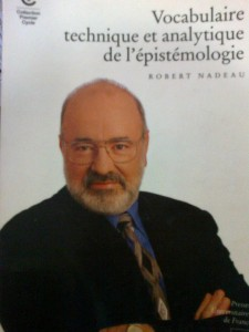 Vocabulaire Technique et Analytique de l'Epistémologie